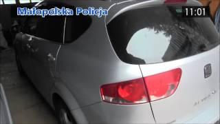 Policjanci rozbili przestępczą szajkę kradnącą samochody osobowe w Małopolsce i na Śląsku