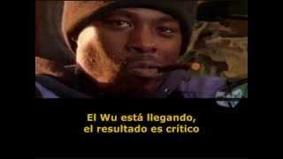 wu tang clan - clan in da front (subtitulado en español)