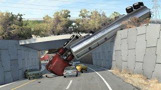 BeamNG Drive Trucks Vs Cars #14