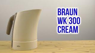Розпакування BRAUN WK 300 Cream