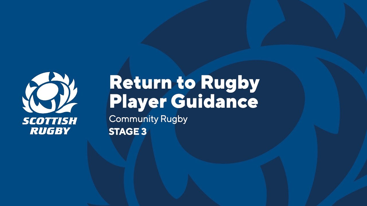 Return to Rugby Player Guidance | Community Rugby Stage 3