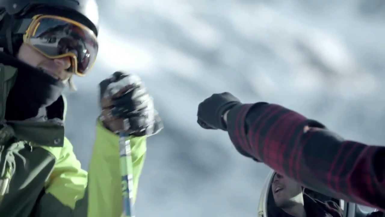 Креативная реклама Audi SQ5 2014 и Фристайл на лыжах