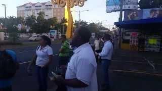NICARAGUA Trumpets & Salvation @ WORLD VISION DAY Jan.2015
