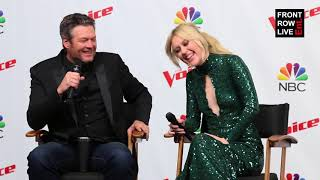 Chloe Kohanski & Blake Shelton Press Conference THE VOICE SEASON 13 FINALE