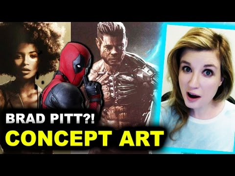 Deadpool 2 Domino Costume, Brad Pitt as Cable?! - Beyond The Trailer