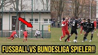 Mein Fussballspiel vs Bundesliga U Spieler Hattrick & Krasses Elfmeter Tor!!!!