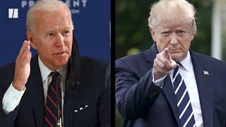 Biden Gives Trump A Coronavirus Reality Check
