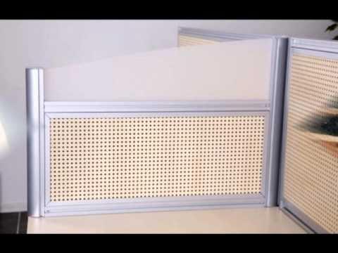 cloison phonique bureau partag youtube. Black Bedroom Furniture Sets. Home Design Ideas
