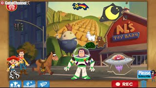 Disney Toy Story Theater Buzz, Woody, and Jessie Android İOS Free Videos games for Kids, Girls, Baby