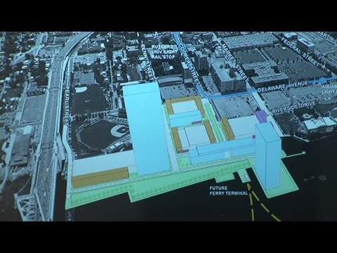 Christie Announces Historic $700 Million Redevelopment Project in Camden