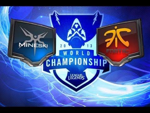 LOL - Mineski vs Fnatic - Season 3 World Championship D1G9 Highlights