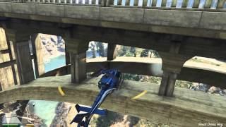 GTA 5 Story: Spaceship Part under bridge