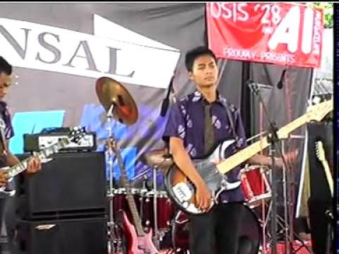 CAKRAWALA BAND Sungguh Tega,jadikan Q Rajamu,hujan Live SMA 1 Salaman 2013