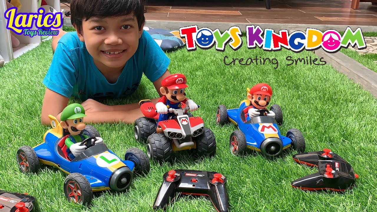 Larics Main Mobil Mobilan Mario Kart Seperti Main Game 😱😱😱