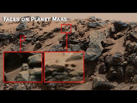 WTF a lizard Face? Planet Mars