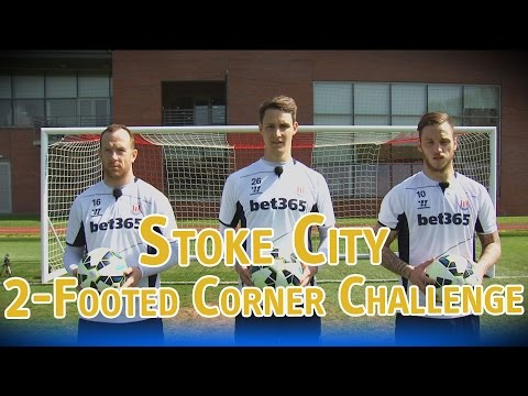 2-Footed Corner Challenge – Stoke City – The Fantasy Football Club