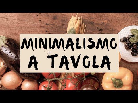 Alimentazione minimalista: 5 suggerimenti per portare il minimalismo a tavola