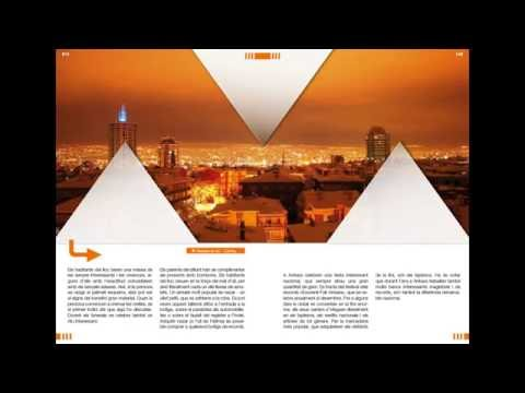 Adobe InDesign || Travel Ideas Magazine  || مثال مجلة مثالية