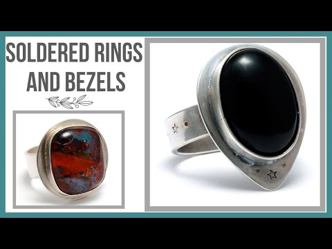Soldered Rings and Bezels Tutorial - Beaducation.com