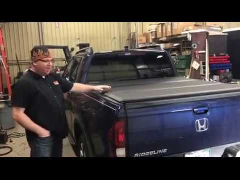 2017 Honda Ridgeline Extang Encore Tri Folding Truck Bed Cover   YouTube