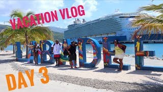 Zip Lining in Labadee, Haiti - Oasis Of The Seas (DAY 3)