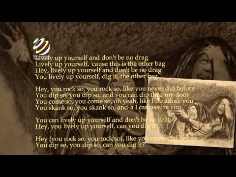 """Bob Marley and The Wailers """"Lively Up Yourself"""" (Lyrics-Letra) [HQ Audio]"""