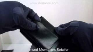 MB 14103 montblanc  wallet meisterstuck portafogli review mont blanc