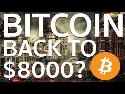 BITCOIN BACK TO $8,000? SHOULD I SELL MY BITCOIN? BTC PRICE PREDICTION (TECHNICAL ANALYSIS)