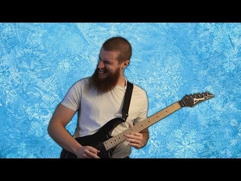 ♪ Let It Go (Frozen) | METAL GUITAR REMIX ♪
