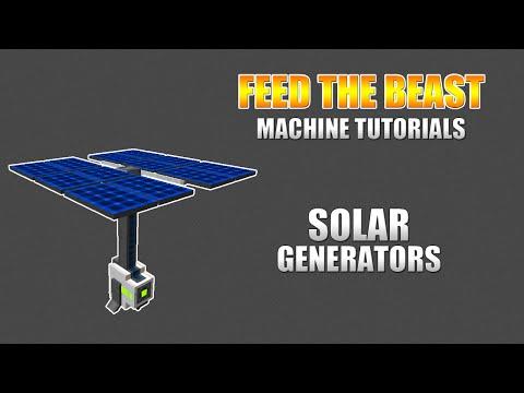 Modded Minecraft – Machine Tutorials – Mekanism: Solar Generator