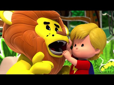 Fisher Price Little People | Discovering Animals🦁 Fun Adventure 🐯 1h Compilation | Cartoon for Kids