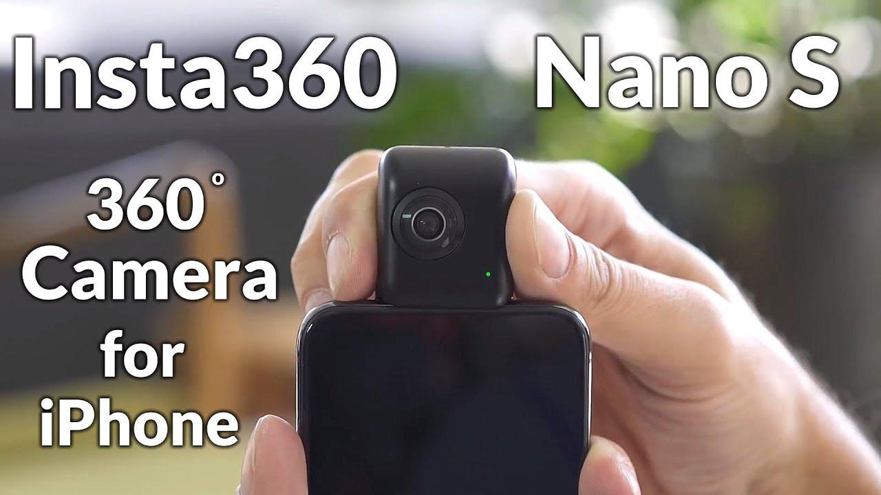 Insta360 Nano S 360 Vr Camera For Iphone Youtube