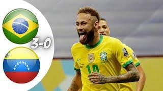 ملخص مباراة البرازيل و فنزويلا كوبا امريكا 2020 تعليق عصام الشوالي