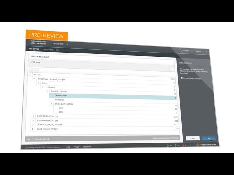 Thomson Reuters EDiscovery Point: How It Works
