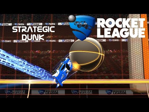 Epic Strategic Hoops Dunk - Rocket League