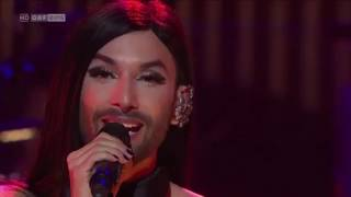 Conchita Wurst Out Of Body Experience at Sydney Opera House