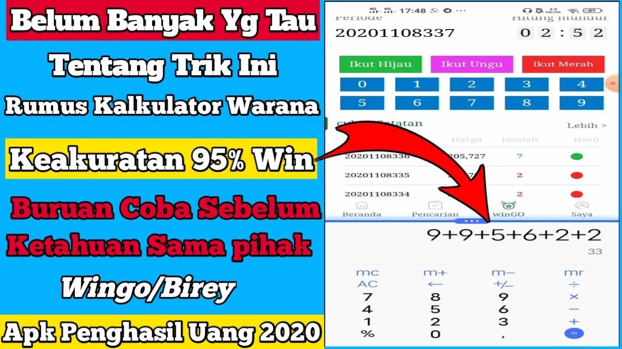 Rumus Warna Wingo Aplikasi Penghasil Uang Tercepat 2020 Penghasil Saldo Dana Terbukti Membayar Youtube