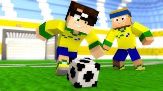 Minecraft: MELHOR MINI-GAME DE FUTEBOL! (Novo Mini-Game)