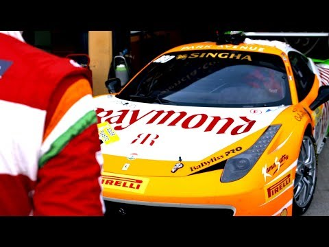 [Team GHS] - Ferrari Challenge 2015 Season -  Episode 2 | UHD 4K