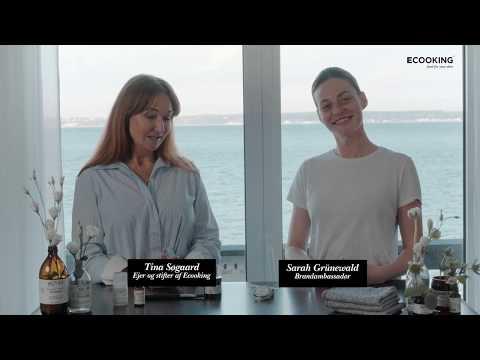 Tina og Sarah fortæller om Ecooking Peelmaske og Fugtmaske