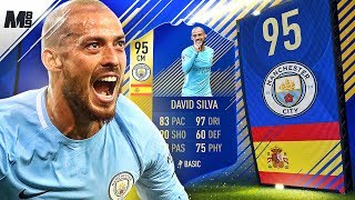 FIFA 18 TOTS SILVA REVIEW | 95 TOTS SILVA PLAYER REVIEW | FIFA 18 ULTIMATE TEAM