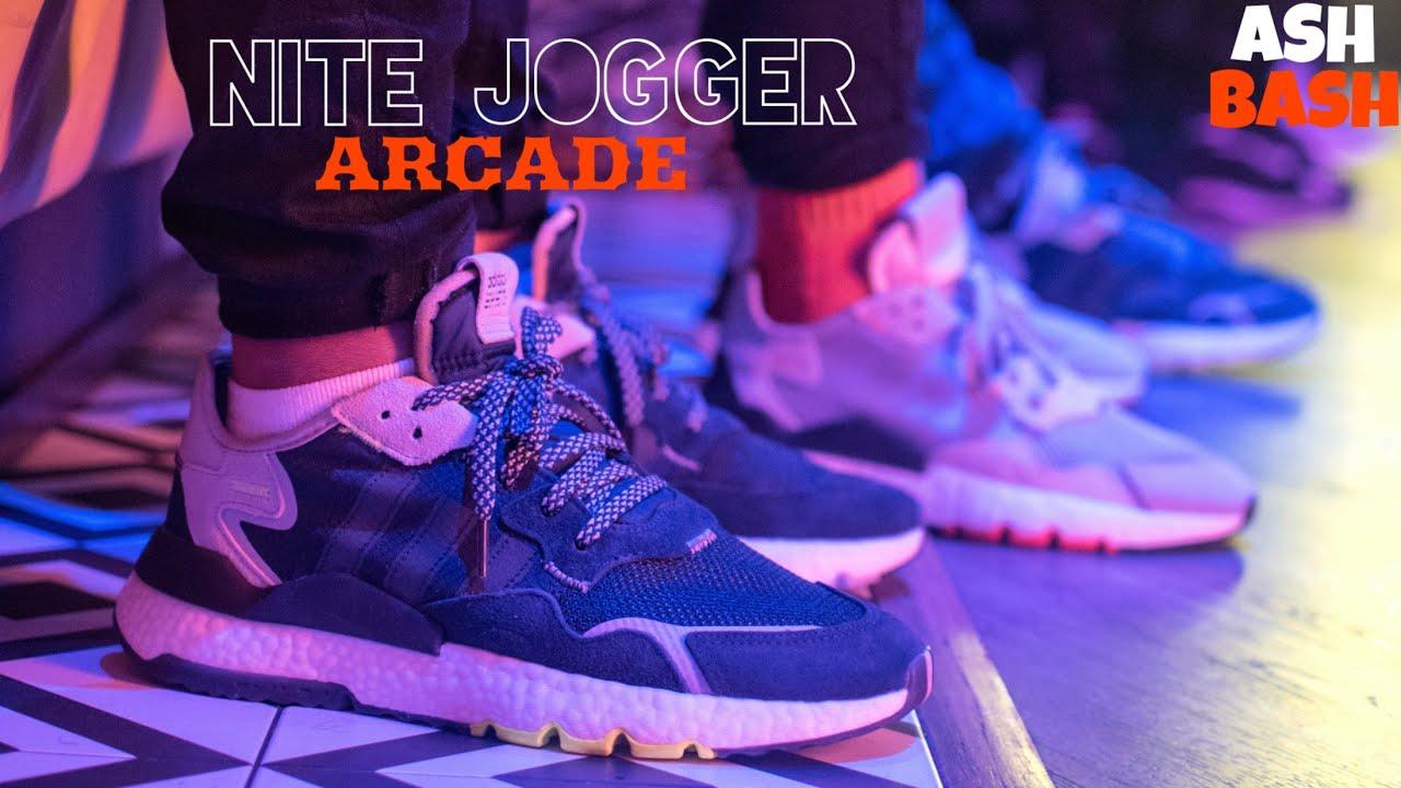JD Sports x Adidas Nite Joggers Event