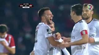 Goal   Golo Rafa: Aves 0-(2) Benfica (Liga 18/19 #22)