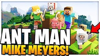 ANT-MAN SUPERHERO MIKE MEYERS | Minecraft - Mod Battle (MIKE MYERS MEETS ANT MAN)