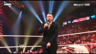JR Kisses Cole's Feet (Raw 4/18/11)