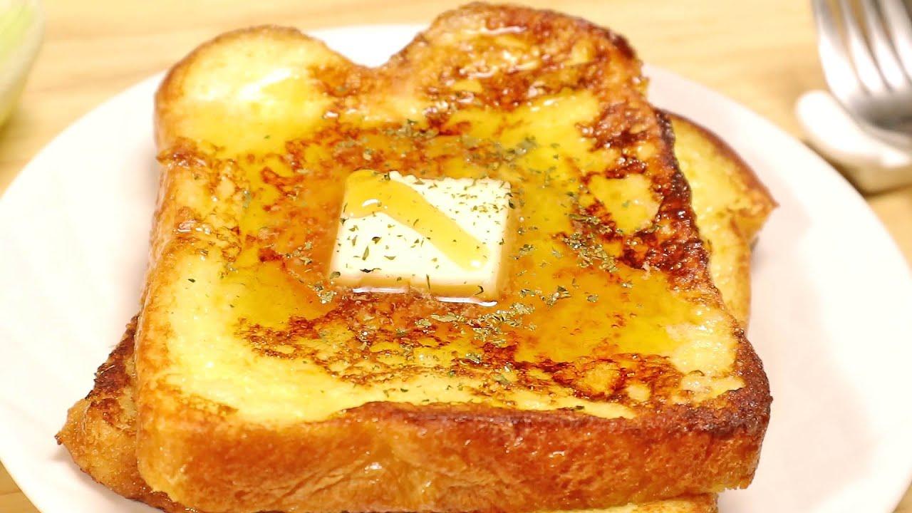 프렌치토스트 맛있게 만들기 - 예쁘고 간단한 브런치 요리 주말에 꼭 만들어 보세요! 꼭!
