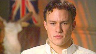 Video Heath Ledger in 2002 on 'The Four Feathers' download MP3, 3GP, MP4, WEBM, AVI, FLV September 2017