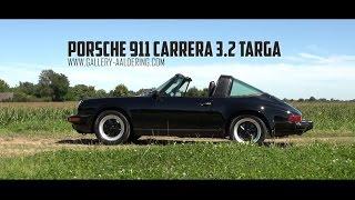 PORSCHE 911 3.2 CARRERA TARGA - 1987 | GALLERY AALDERING TV