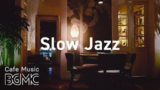 Slow Jazz: Midnight Saxophone Jazz - Black Night City Jazz for Calm - Chill Out Guitar Music