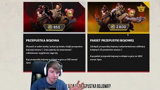 OMÓWIENIE BATTLE PASS DO APEX LEGENDS